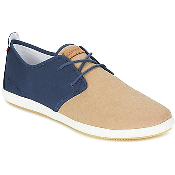 Shoes Men Low top trainers Lafeyt MARTE SUMMER CHAMBRAY Marine / Beige