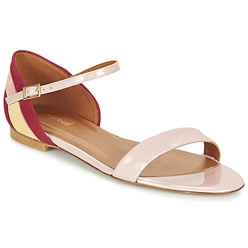 Shoes Women Sandals Heyraud ELISABETH Pink
