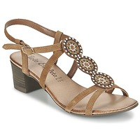 Shoes Women Sandals Lola Espeleta GENIAL Cognac
