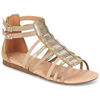 Shoes Girl Sandals Bullboxer JEZIANA Gold