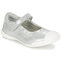 Shoes Girl Ballerinas Mod'8 PRISCA Silver