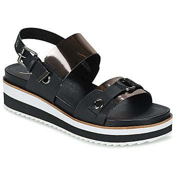 Shoes Women Sandals Coolway DOLPHIN Black