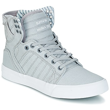 Shoes High top trainers Supra SKYTOP Grey