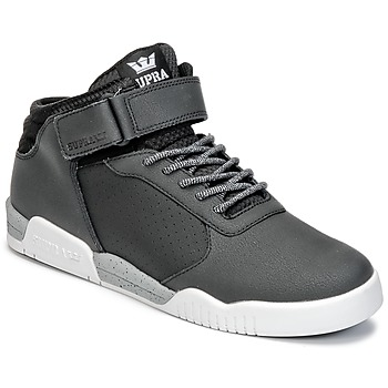 Shoes Men High top trainers Supra ELLINGTON STRAP Black