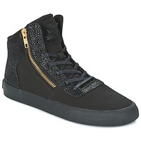 Shoes Women High top trainers Supra WOMENS CUTTLER Black