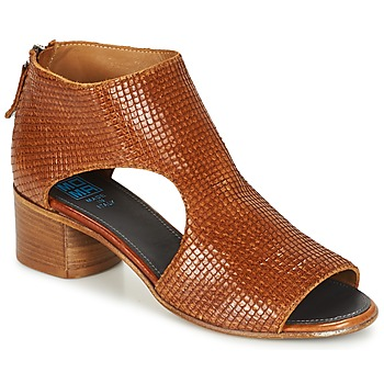 Shoes Women Sandals Moma JOBADA Brown