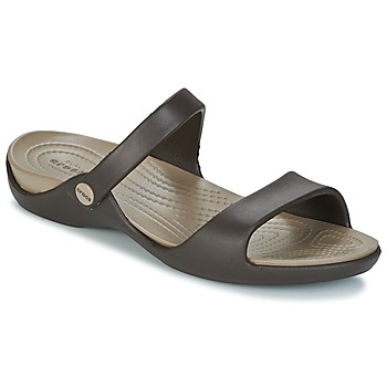 Shoes Women Sandals Crocs Cleo V Expresso / Mushroom