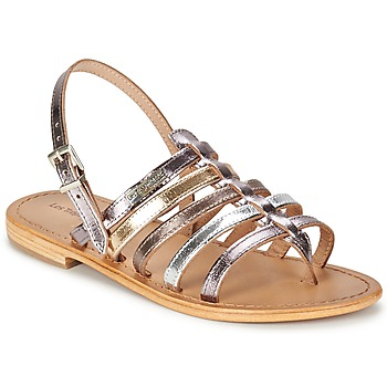 Shoes Women Sandals Les Tropéziennes par M Belarbi HERISSON Silver / Multicoloured