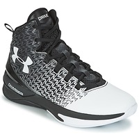 Shoes Men Basketball shoes Under Armour UA ClutchFit Drive 3 Black / White