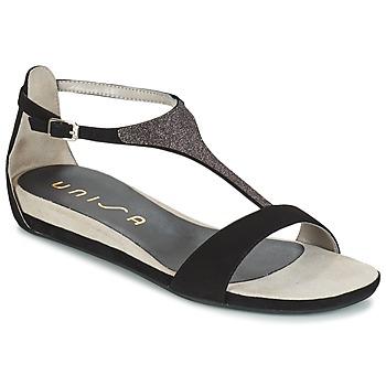 Shoes Women Sandals Unisa APICE Black