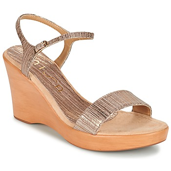 Shoes Women Sandals Unisa RITA Taupe