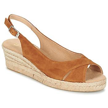 Shoes Women Sandals Unisa CAMPI Camel
