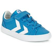 Shoes Children Low top trainers Hummel DEUCE COURT JR Blue