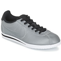 Shoes Boy Low top trainers Nike CORTEZ PREMIUM JUNIOR Grey