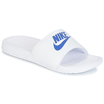 Shoes Men Sliders Nike BENASSI JUST DO IT White / Blue