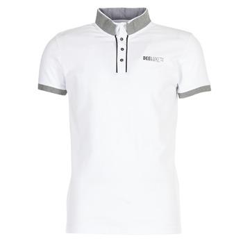 material Men short-sleeved polo shirts Deeluxe SQUART White