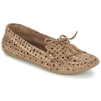 Shoes Women Loafers Ippon Vintage MOC POINTS Taupe