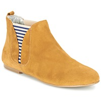 Shoes Women Mid boots Ippon Vintage SUN FLYBOAT Ocre tan