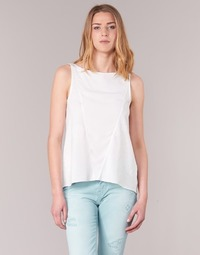 material Women Tops / Sleeveless T-shirts Desigual ROMINESSA White