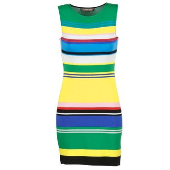material Women Short Dresses Desigual LIURASE Multicoloured