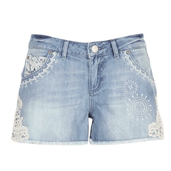 material Women Shorts / Bermudas Desigual MARTESSA Blue