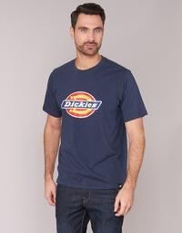 material Men short-sleeved t-shirts Dickies HORSESHOE TEE Marine