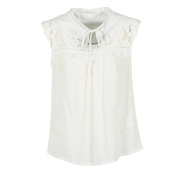 material Women Blouses See U Soon 7116203 White