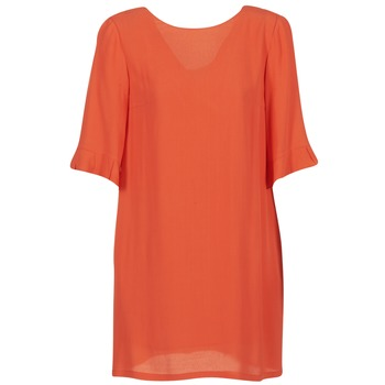material Women Short Dresses See U Soon 7122012 Coral