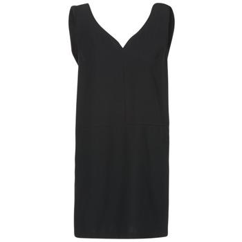 material Women Short Dresses See U Soon 7121047 Black