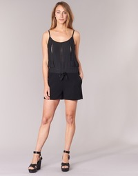 material Women Jumpsuits / Dungarees See U Soon 7191003 Black