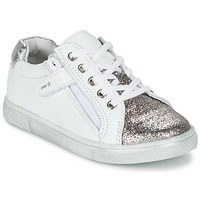Shoes Boy Low top trainers Babybotte KRAZY White / Silver