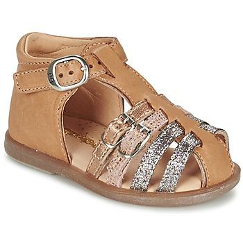 Shoes Girl Ballerinas Babybotte TWIX CAMEL