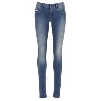 material Women slim jeans Diesel LIVIER Blue