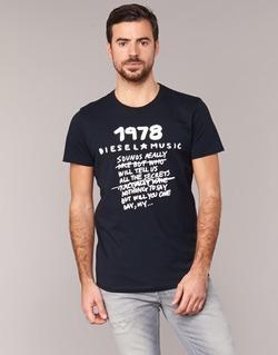 material Men short-sleeved t-shirts Diesel T DIEGO NB Black