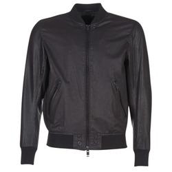 material Men Leather jackets / Imitation le Diesel L POWELL Black