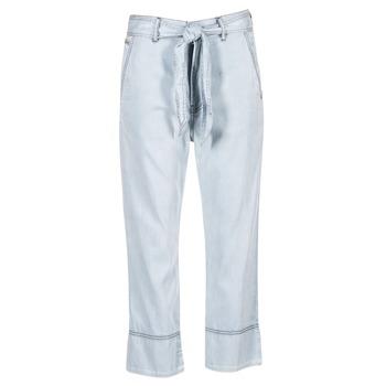 material Women Wide leg / Harem trousers Diesel DE JAMA Blue