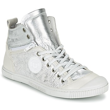 Shoes Women High top trainers Pataugas BANJOU/MT F2C Silver