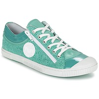 Shoes Women Low top trainers Pataugas BISK/BB F2C Turquoise
