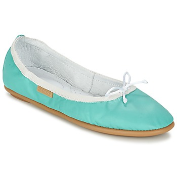 Shoes Women Ballerinas Pataugas SANOK F2C TURQUOISE
