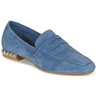 Shoes Women Loafers Perlato KAMINA Blue