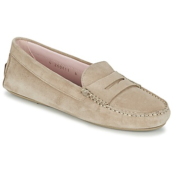 Shoes Women Loafers Pretty Ballerinas ZAFRARA Beige
