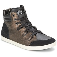 Shoes Women High top trainers Redskins CADIX Black / BRONZE