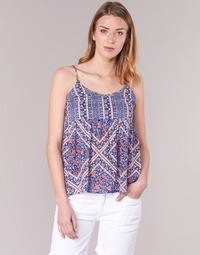 material Women Blouses Pepe jeans MERY Blue / Pink