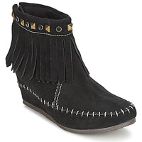 Shoes Women Mid boots Les Tropéziennes par M Belarbi BOLIVIE Black