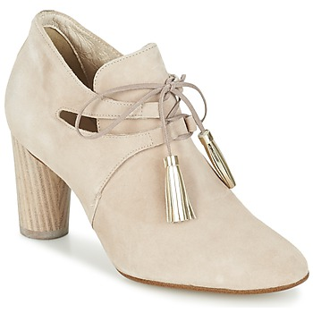 Shoes Women Low boots France Mode NANIE SE TA BEIGE