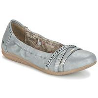 Shoes Women Ballerinas Mustang CRICA Grey