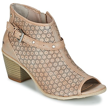 Shoes Women Ankle boots Mustang CRIARON Taupe