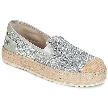 Shoes Women Espadrilles Mustang FRIO Silver