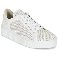 Shoes Women Low top trainers Mustang FAMO White / Broken