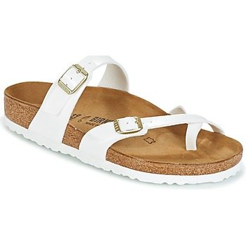 Shoes Women Mules Birkenstock MAYARI White